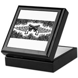 Pistols and Wings Keepsake Box