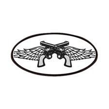 Pistols and Wings Patches