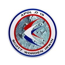 Apollo 15 Ornament (Round)