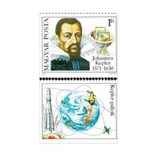 Johannes Kepler Rectangle Decal
