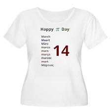 Happy Pi Day Plus Size T-Shirt