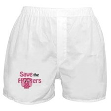 Save the Hooters Boxer Shorts