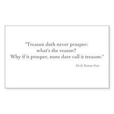 Treason Decal