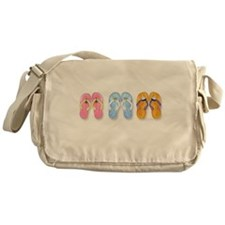 Cute Hula girls Messenger Bag