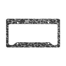 Unique Animal print License Plate Holder