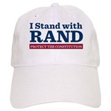 I Stand With Rand Baseball Baseball Cap