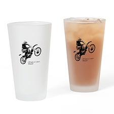 Dirtbike Drinking Glass