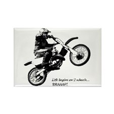 Dirtbike Rectangle Magnet (10 pack)