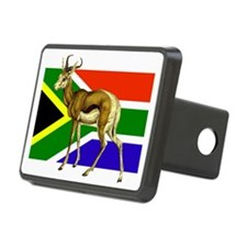 South Africa Springbok Flag Hitch Cover