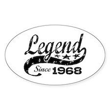 Legend Since 1968 Decal