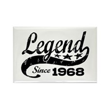 Legend Since 1968 Rectangle Magnet