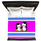 Cute Chick King Duvet