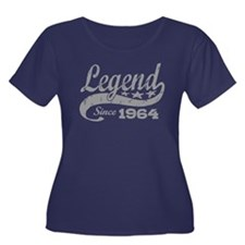 Legend Since 1964 Women's Plus Size Scoop Neck Dar