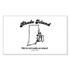 RHODE ISLAND: We're not really an island Decal