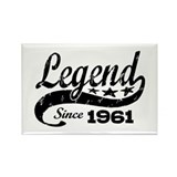 Legend Since 1961 Rectangle Magnet