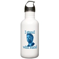 I STAND WITH RAND Water Bottle