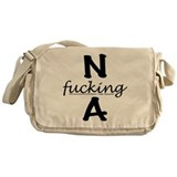 Cute Alcoholism Messenger Bag