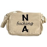 Funny Addictions Messenger Bag