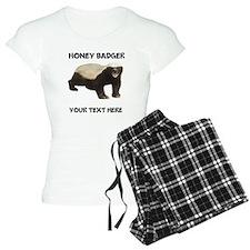 Custom Honey Badger Pajamas