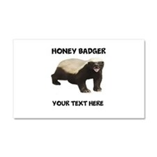 Custom Honey Badger Car Magnet 20 x 12