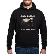 Custom Honey Badger Hoodie