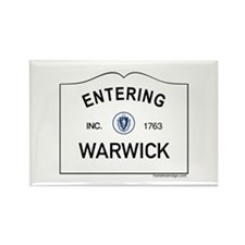 Warwick Rectangle Magnet (10 pack)