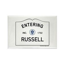 Russell Rectangle Magnet (10 pack)