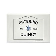 Quincy Rectangle Magnet (10 pack)