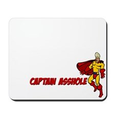 Captain Asshole Mousepad