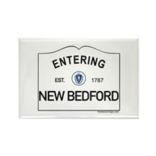 New Bedford Rectangle Magnet (100 pack)