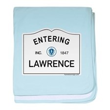 Lawrence baby blanket