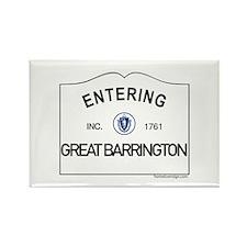 Great Barrington Rectangle Magnet