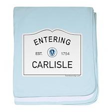 Carlisle baby blanket