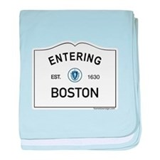 Boston baby blanket