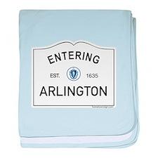 Arlington baby blanket