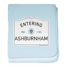 Ashburnham baby blanket