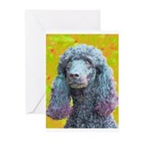 Cool Poodles Greeting Cards (Pk of 20)
