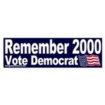 Remember 2000 Bumper Sticker