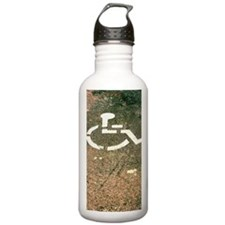 High angle view of a d Water Bottle