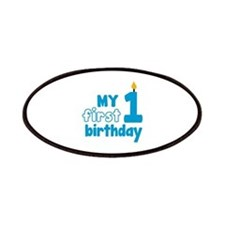First Birthday Patches