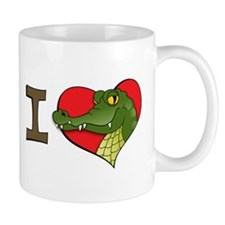 I heart crocs Small Mug