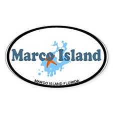 Marco Island - Beach Design. Decal