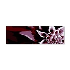 Deep Purple Flower Car Magnet 10 x 3