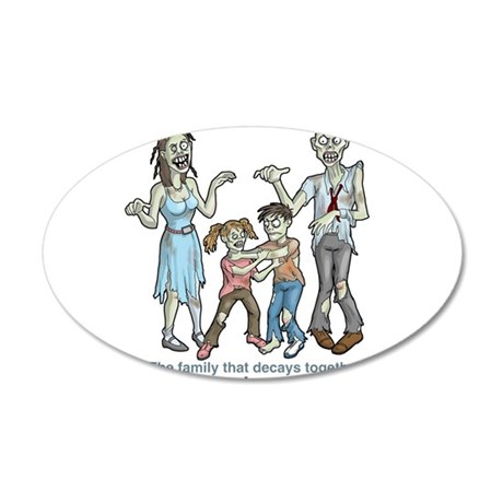 Zombies: Family Decay Wall Decal