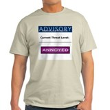 Ash Grey Homeland Hilarity T-Shirt