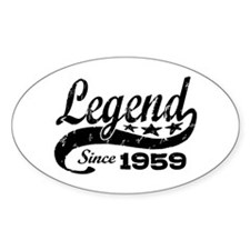 Legend Since 1959 Decal