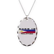 Born In Philippines Necklace