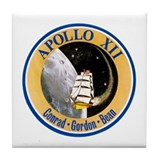 Apollo 12 Tile Coaster