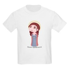 Cute Catholic Saint Genevieve T-Shirt