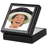 Laughing Queen Beatrix Keepsake Box